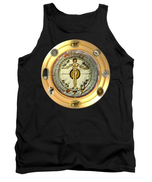 Mysteries Of The Ancient World By Pierre Blanchard Tank Top