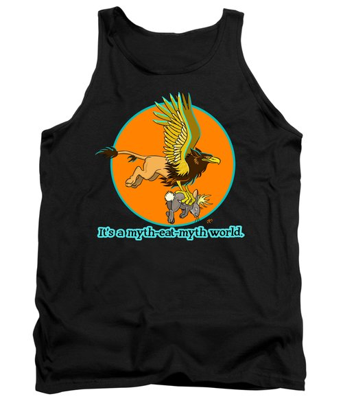 Tank Top featuring the digital art Mythhunter by J L Meadows