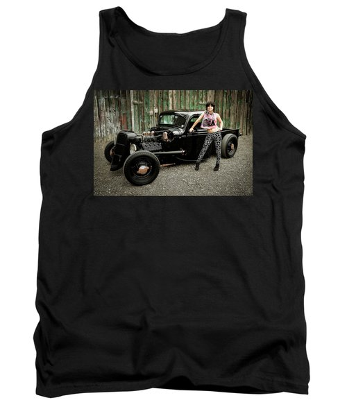 Nancy V Tank Top
