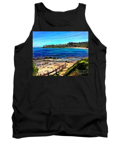 Napili Beach Gazebo Walkway Tank Top