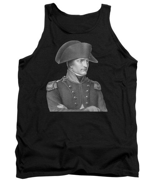 Napoleon Bonaparte In Uniform  Tank Top