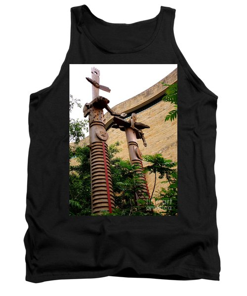 National Museum Of The American Indian 3 Tank Top by Randall Weidner
