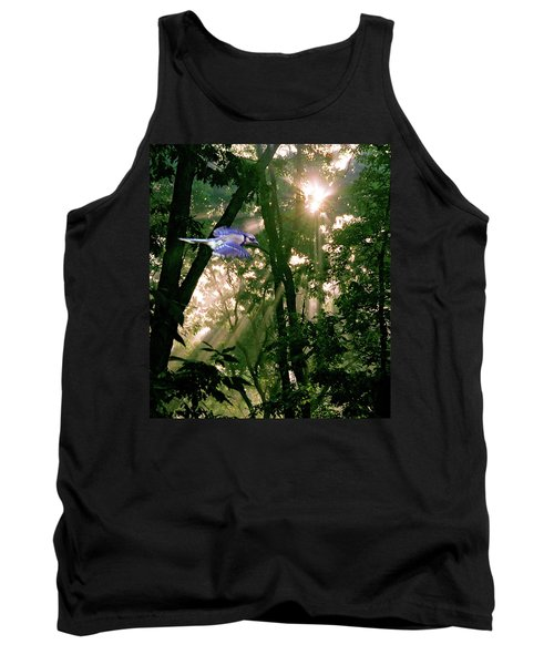 Tank Top featuring the photograph Nature's Cathedral by Marie Hicks