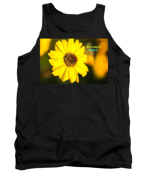 Nature's Smile  Tank Top by Joseph S Giacalone