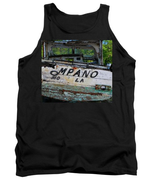 Tank Top featuring the photograph Nautical Miles by Lori Mellen-Pagliaro
