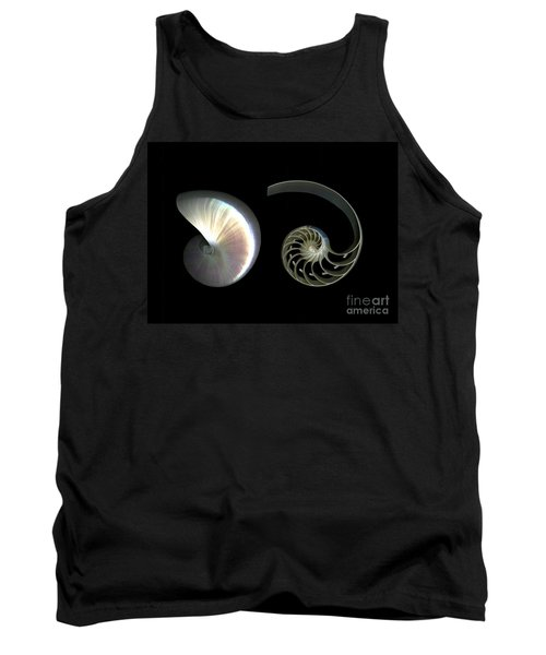 Nautilus Deconstructed Tank Top by Christian Slanec