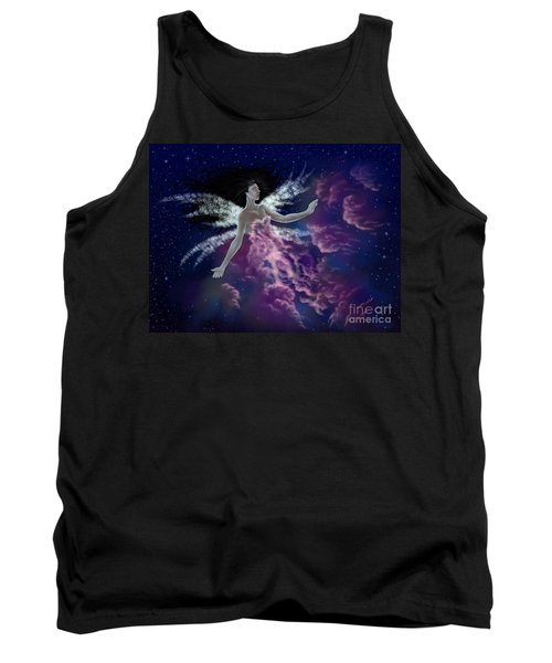 Tank Top featuring the painting Nebula by Amyla Silverflame