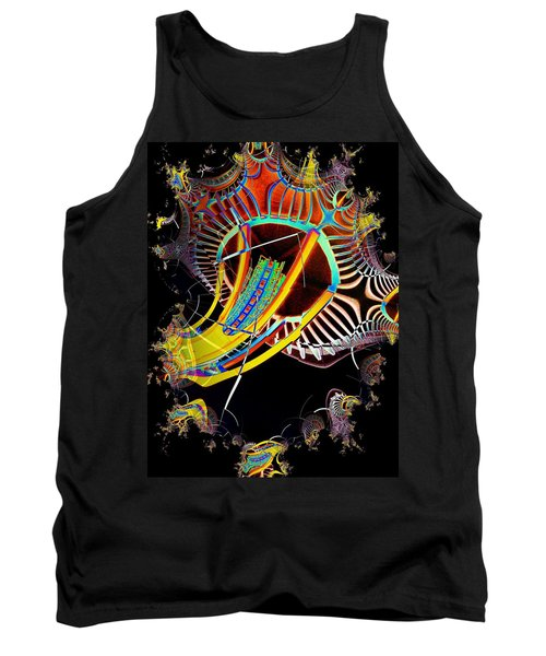 Needle In Fractal 2 Tank Top