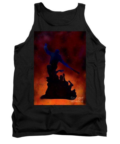 Negan Inferno Tank Top by Justin Moore