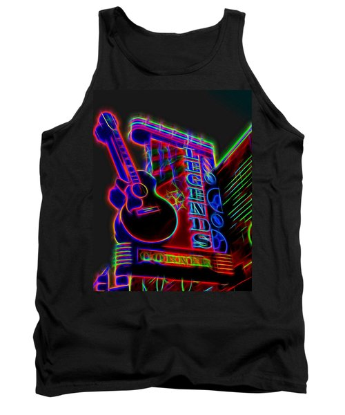 Neon Legends Corner Nashville Tank Top