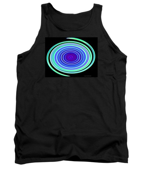 Tank Top featuring the photograph Neon Snake by Joan Hartenstein