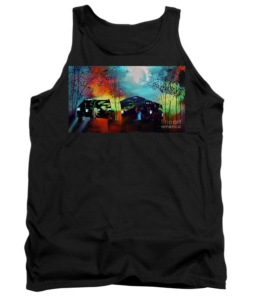 Never Alone  Tank Top
