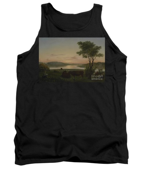 New England Inlet With Self Portrait, 1848 Tank Top