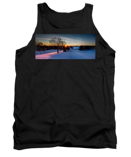 New England Sunrise Tank Top