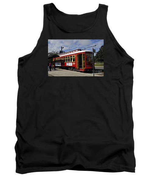 New Orleans Street Car Tank Top