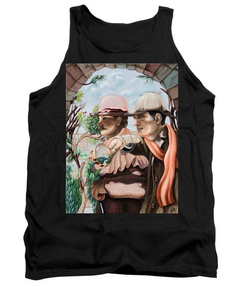 New Story By Sir Arthur Conan Doyle About Sherlock Holmes Tank Top