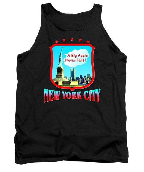 New York Big Apple Design Tank Top