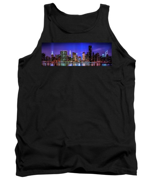 Tank Top featuring the photograph New York City Shine by Theodore Jones