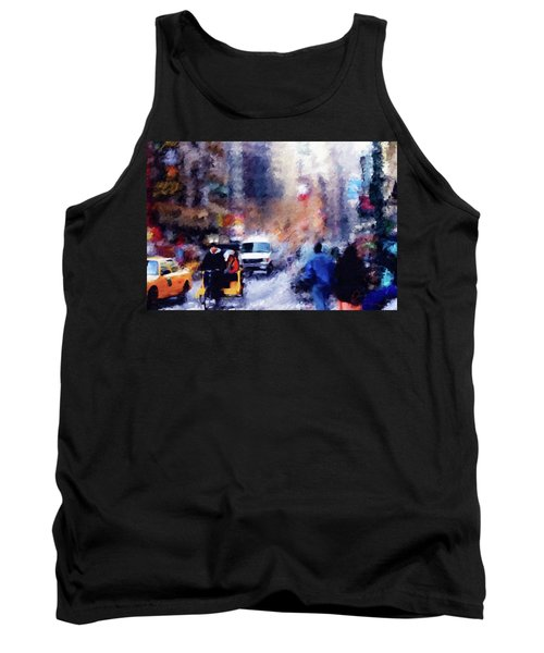 New York Hustle And Bustle Tank Top