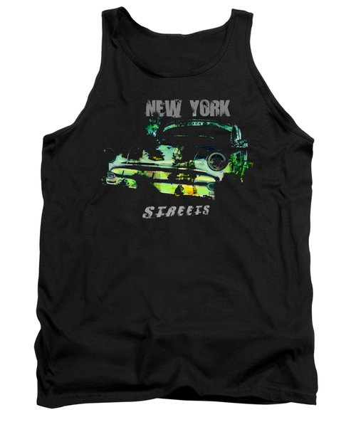 New York Streets Tank Top by Kim Gauge