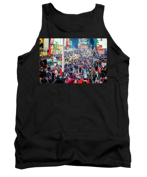 New York Times Square Tank Top