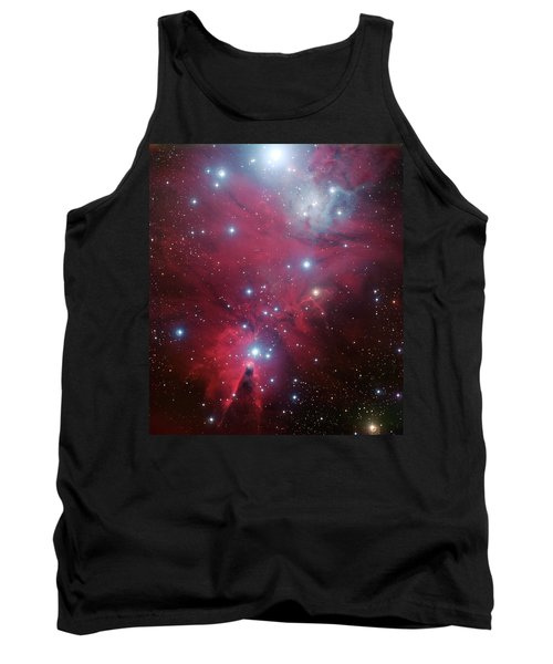 Tank Top featuring the photograph Ngc 2264 And The Christmas Tree Star Cluster by Eso