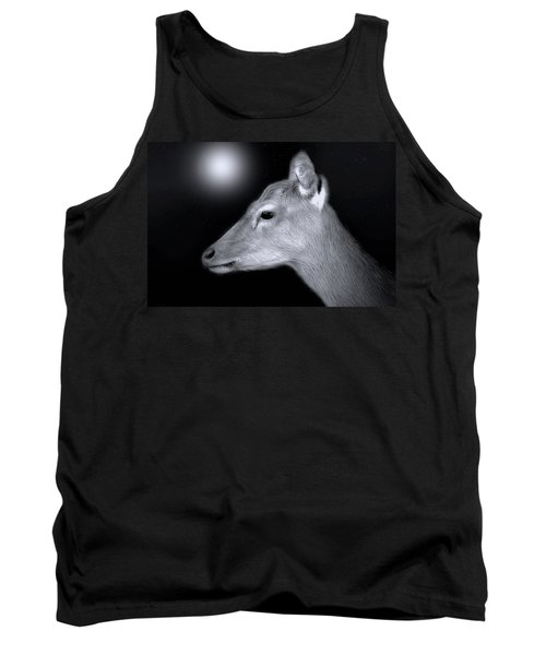 Night Doe Tank Top by Marion Johnson