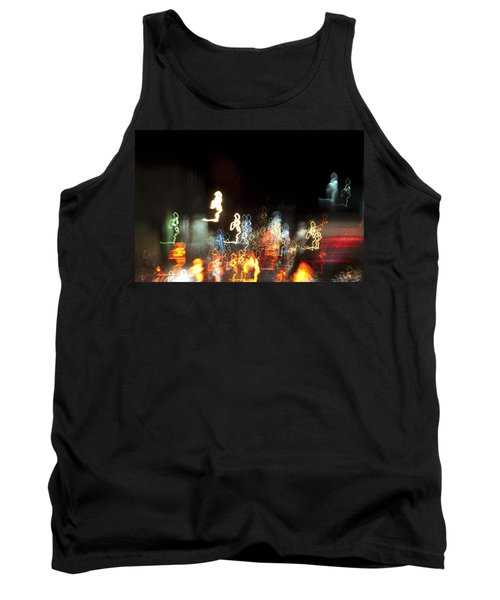 Night Forest - Light Spirits 1 Of 1 Tank Top