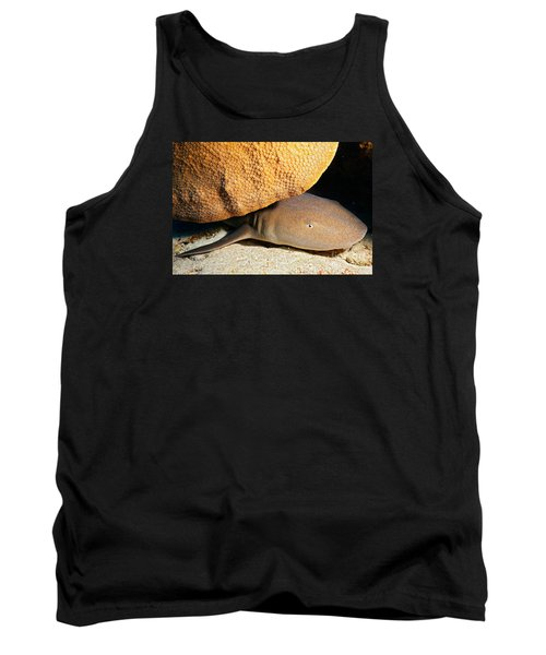 Tank Top featuring the photograph Nocturnal Hunter by Aaron Whittemore