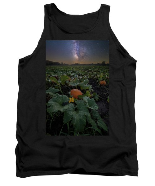 Tank Top featuring the photograph Night Of The Pumpkin by Aaron J Groen