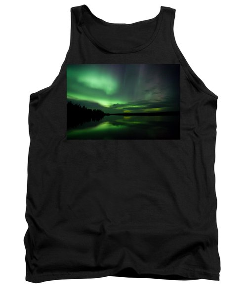 Tank Top featuring the photograph Night Show by Yvette Van Teeffelen