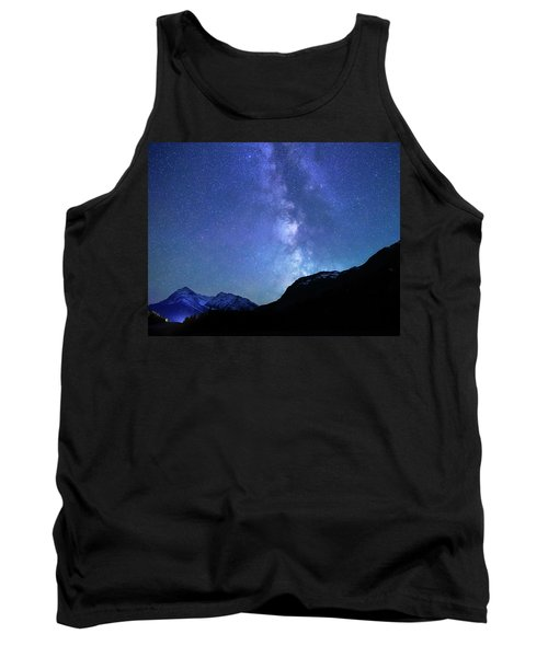 Tank Top featuring the photograph Night Sky In David Thomson Country by Dan Jurak