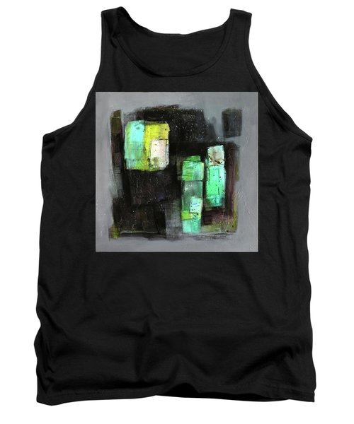 Texture Of Night Painting Tank Top by Behzad Sohrabi