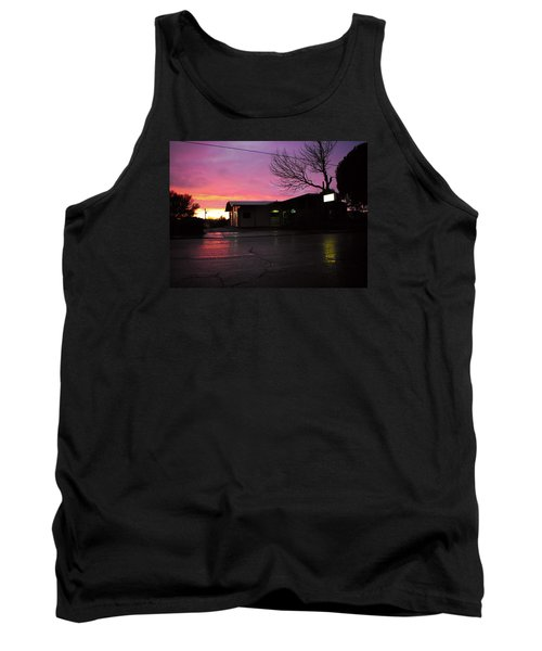 Tank Top featuring the photograph Nightfall by Adria Trail