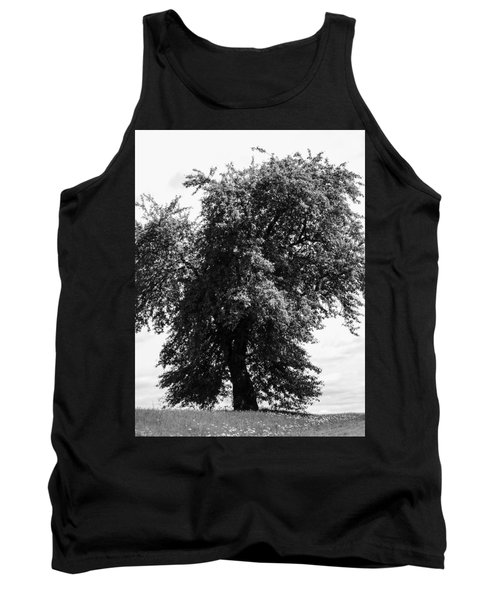 Nina Tree Dressed Out Bw Tank Top