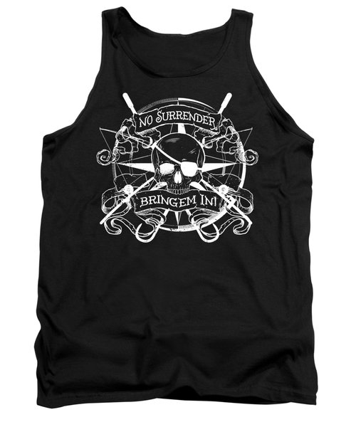 No Surrender - Whiteout Tank Top