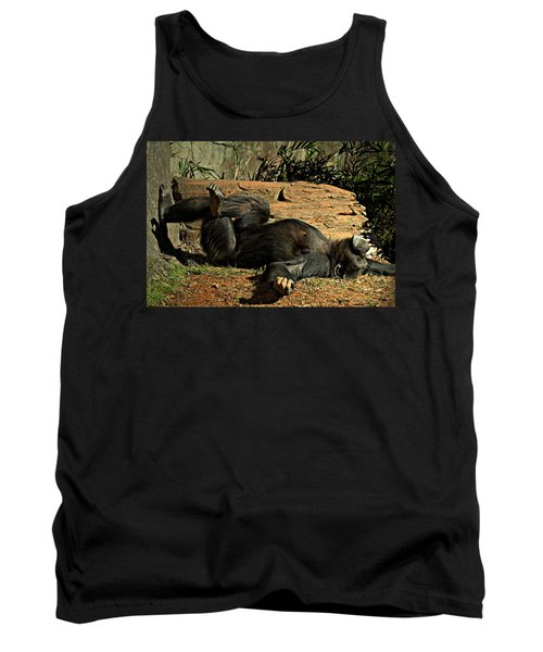 Tank Top featuring the photograph No Worries by Jessica Brawley