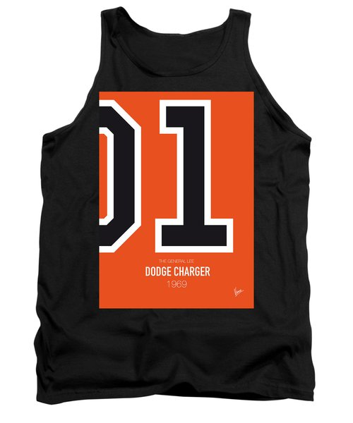 No001 My The Dukes Of Hazard Minimal Movie Car Poster Tank Top