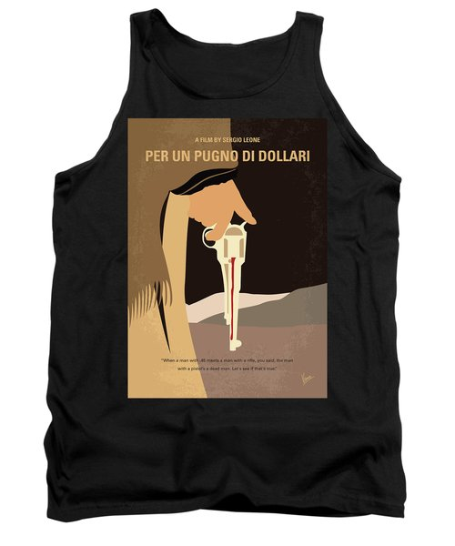 No721 My A Fistful Of Dollars Minimal Movie Poster Tank Top
