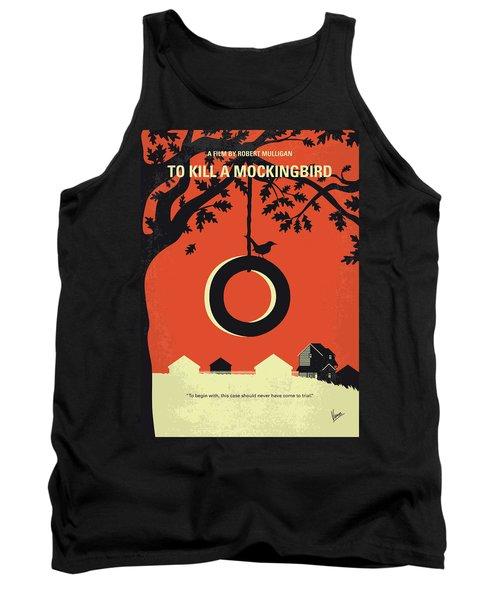 No844 My To Kill A Mockingbird Minimal Movie Poster Tank Top
