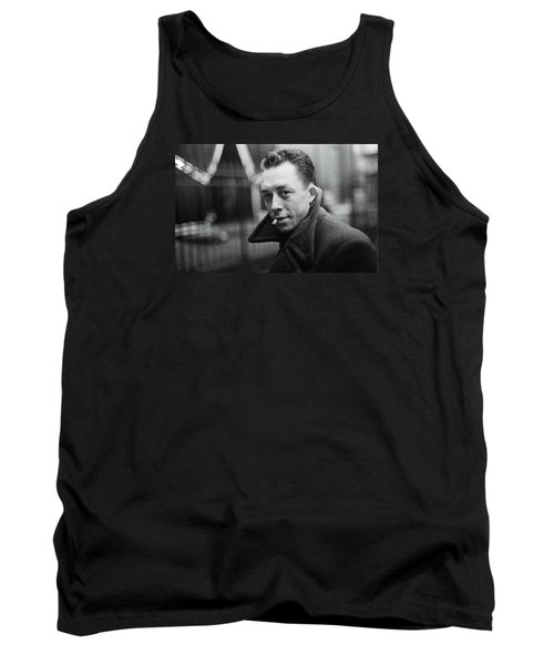 Nobel Prize Winning Writer Albert Camus  Unknown Date Or Photographer -2015           Tank Top
