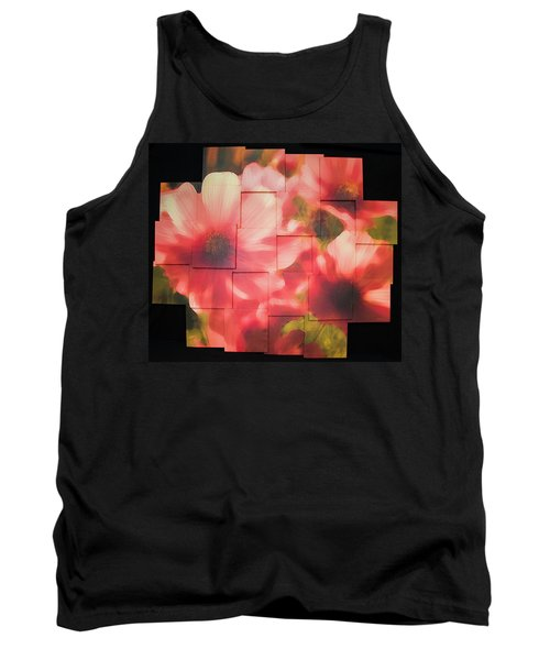 Nocturnal Pinks Photo Sculpture Tank Top