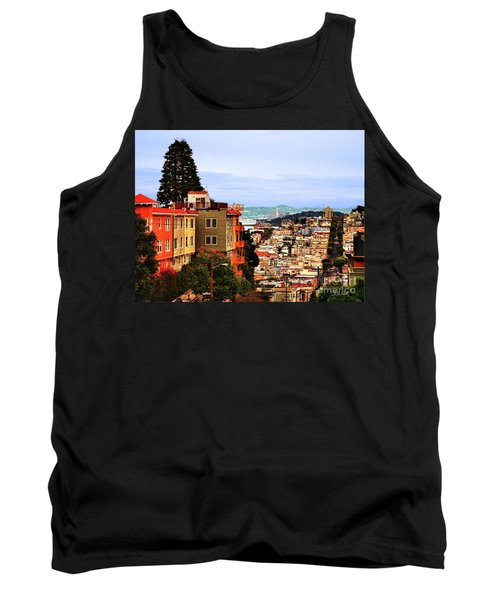 Looking Toward North Beach Tank Top