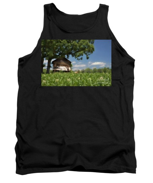 Tank Top featuring the photograph North Carolina Tobacco by Benanne Stiens