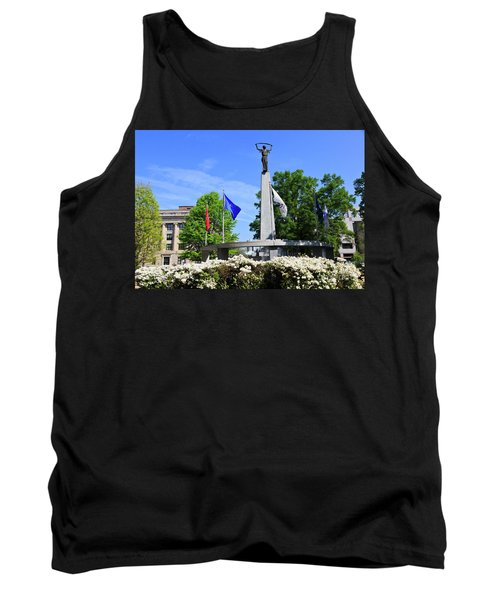 North Carolina Veterans Monument Tank Top