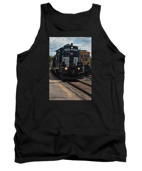 Tank Top featuring the photograph Conway Scenic Railroad - New Hampshire by Suzanne Gaff