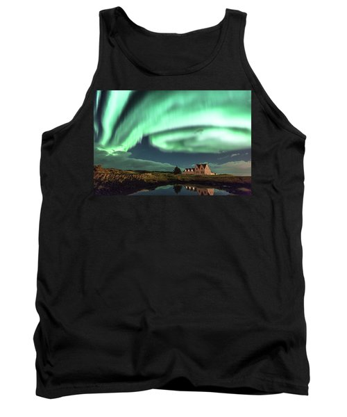 Northern Lights Tank Top by Frodi Brinks