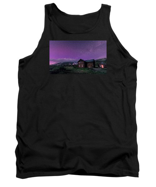 Northern Lights On Boreas Pass Tank Top