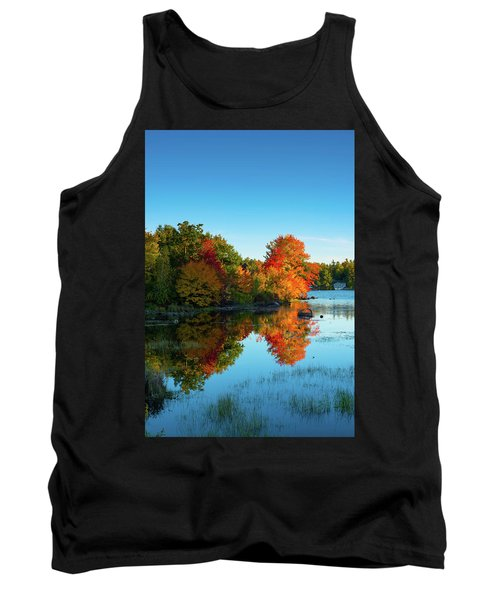 Northwood Lake Autumn Tank Top