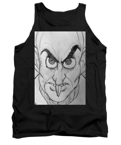 Nosferatu Tank Top by Yshua The Painter